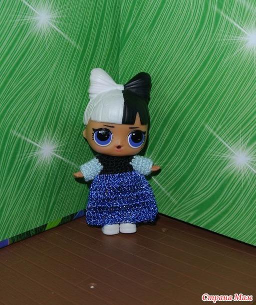 Новогодние костюмы для кукол ЛОЛ