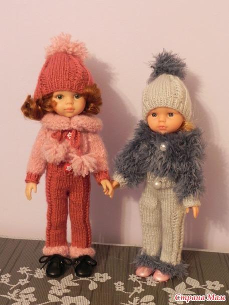 Обновки на зиму для куколок
