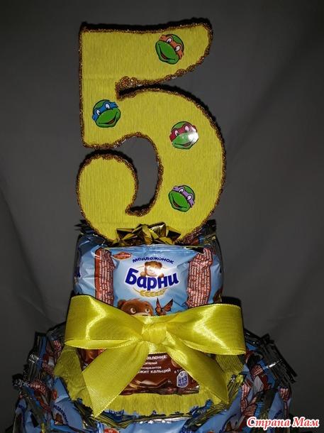 Тортик из сладостей
