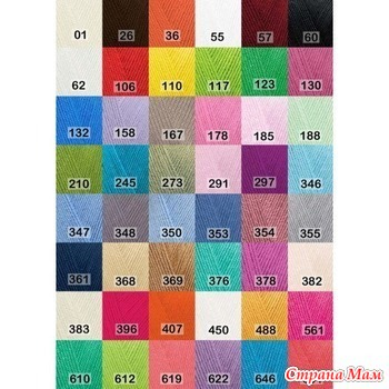 Ализе DIVA 100% микрофибра акрил силк эффект мята цвет 188, 350 м/100 гр. – 3,6р./17р. за 5 шт. Фото пряжи не нашла, цвет есть в таблице