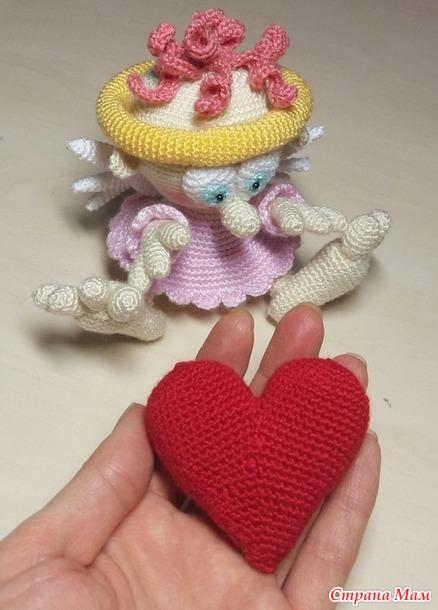 Мой Гном-Ангел на День Св. Валентина