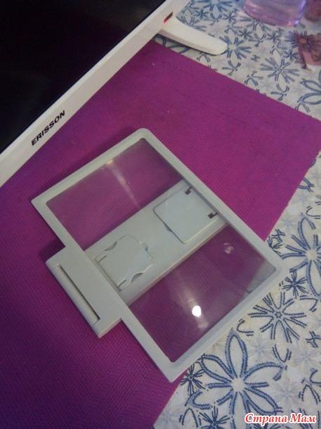 Экран-лупа для смартфона