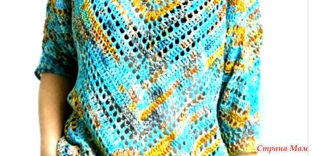 Блуза «Звездная ночь»