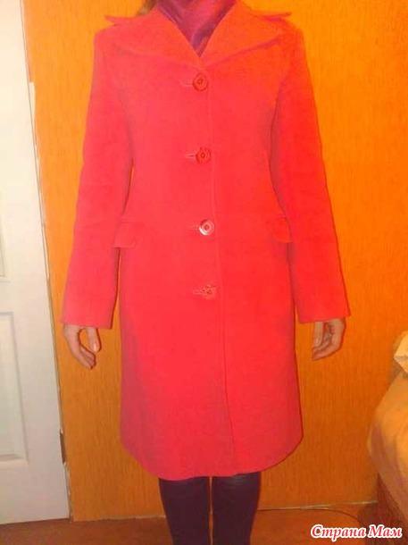 СРОЧНО! ПРОдам пальто б/у 42-44 в идеальном состоянии. Россия