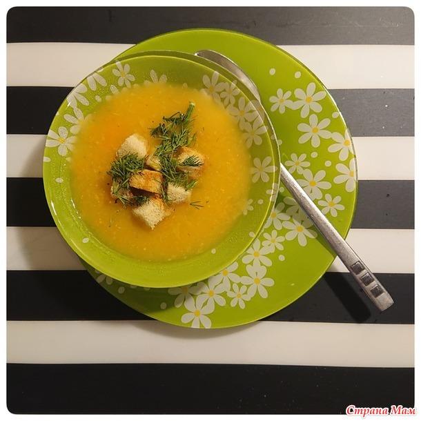 Суп-пюре из сельдерея (ПОСТНЫЙ)