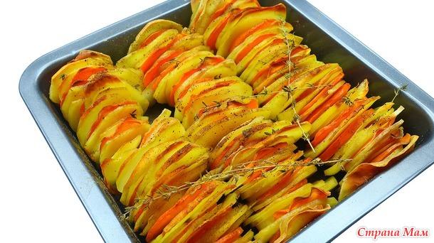 Ароматная картошка в духовке