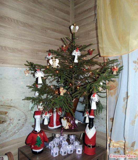 Как украсить Рождество.