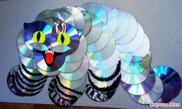 Кот Манул из дисков