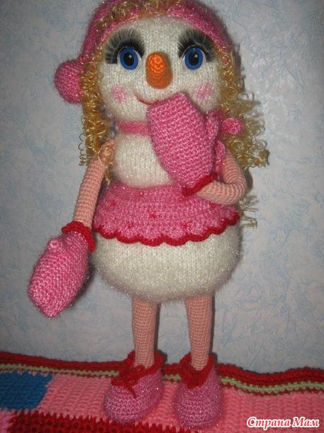 Снеговушка Нюша  ( Годовой конкурс-проект. Январь) тема зима
