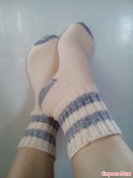 . Носочки... много носочков))