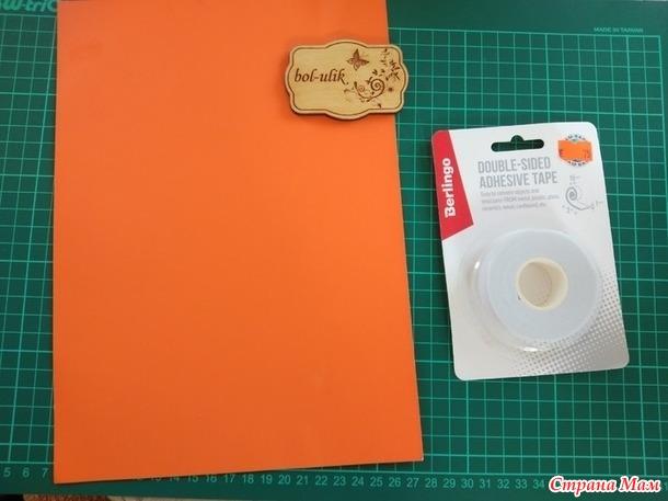 Как я делала открытку с овальным окошком под вышивку