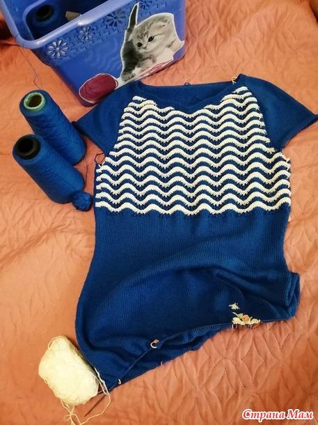 Моё Морское платье