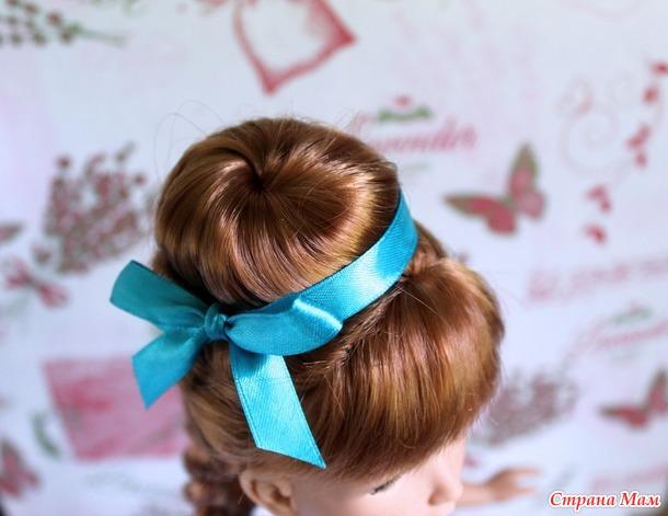 Куклы и причёски...