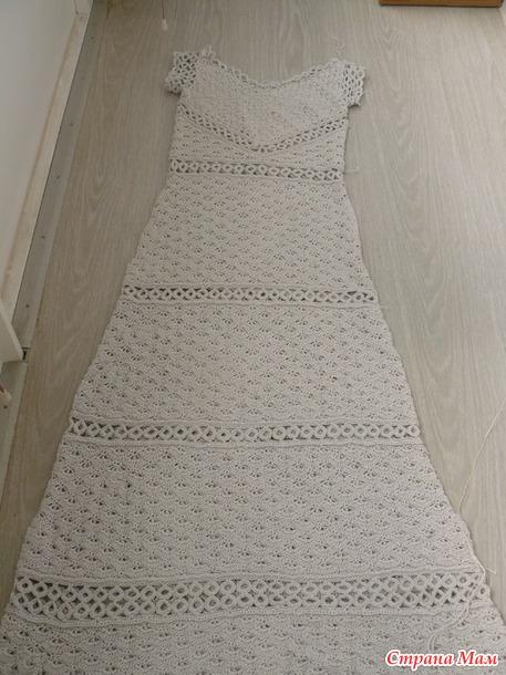 Платье по мотивам Ванессы Монторо.