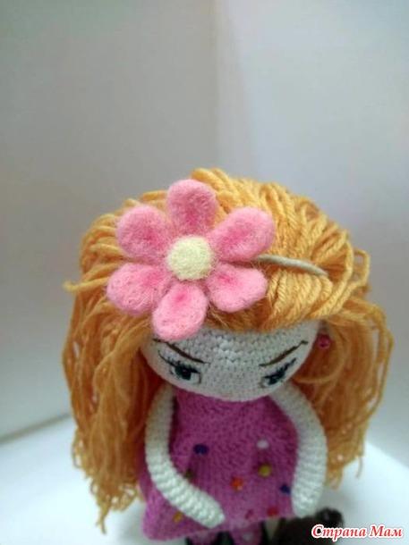 Куколка в розовом.
