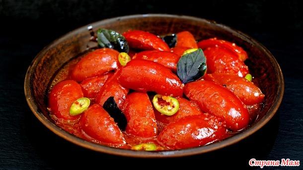 Главная фишка в маринаде! Пикантные маринованные помидоры