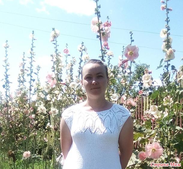 """Белое платье """"Жасмин"""""""
