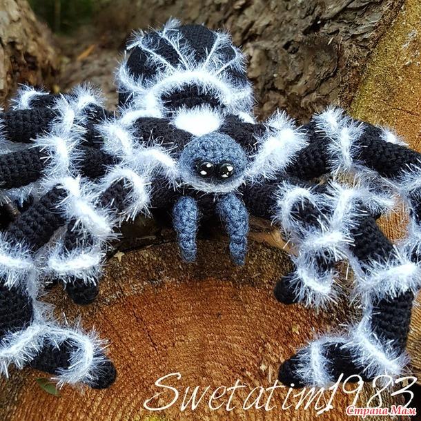 Вы боитесь пауков? Да вы просто их ещё не вязали ;).