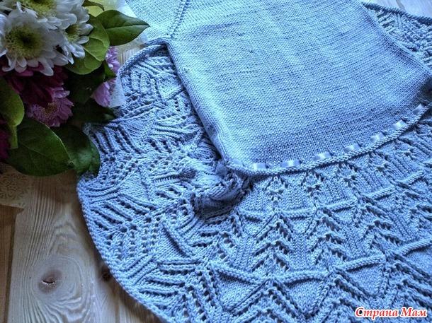 Платье для крестницы на 4 годика)