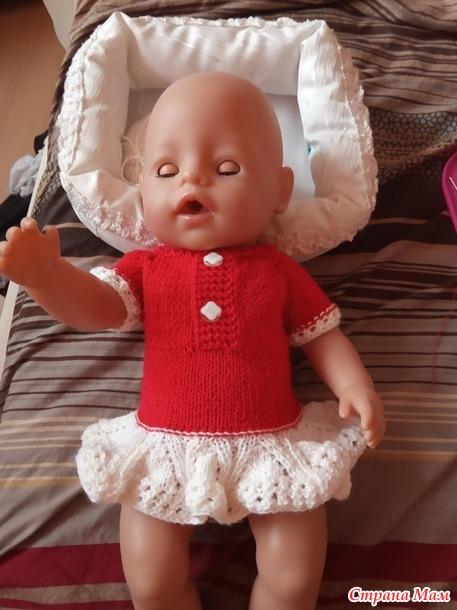 """"""" Гардероб для куклы Беби Борн"""" ( наша Анабелька приоделась)"""