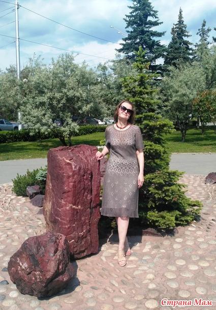 Придумала себе платье. Shetland Lace