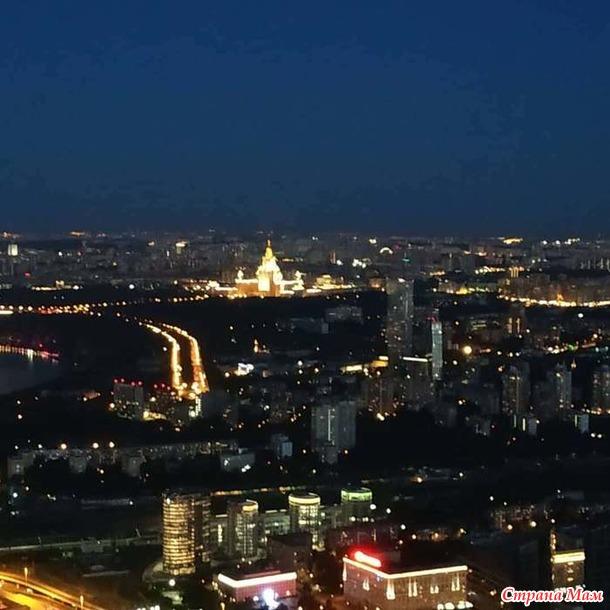 Открытая смотровая площадка Москва Сити