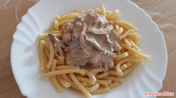 Охотничий соус(упрощенный вариант)