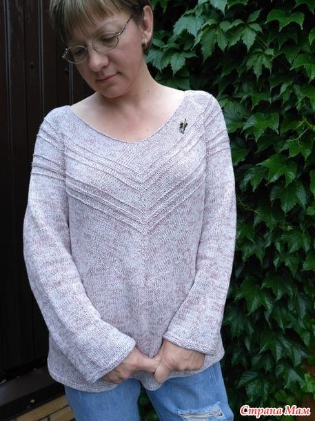 Пуловер Чайка