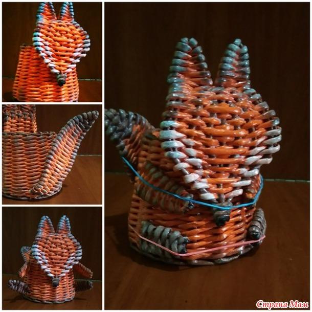 Рыжие лисички-органайзеры +...