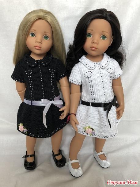 Мои маленькие модницы и новые наряды для них!)))