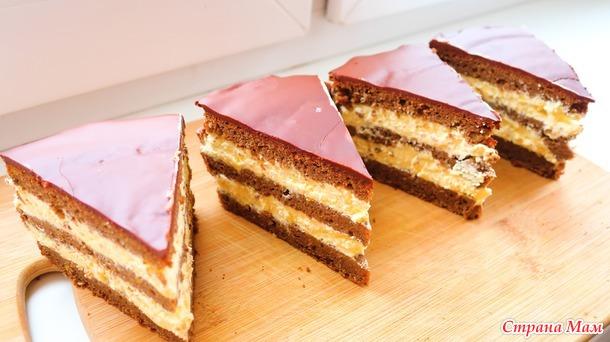 Торт шоколадный каприз на 8 марта просто бомба)
