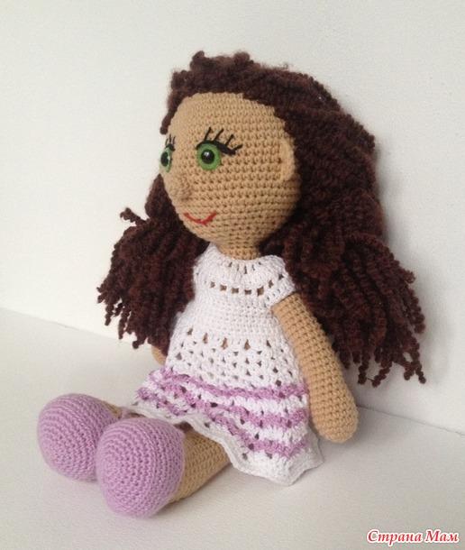 Первая кукла Вика
