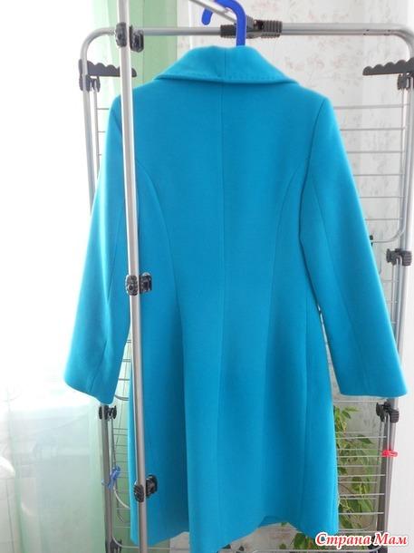 Продам пальто демисезонное р.42, б/у