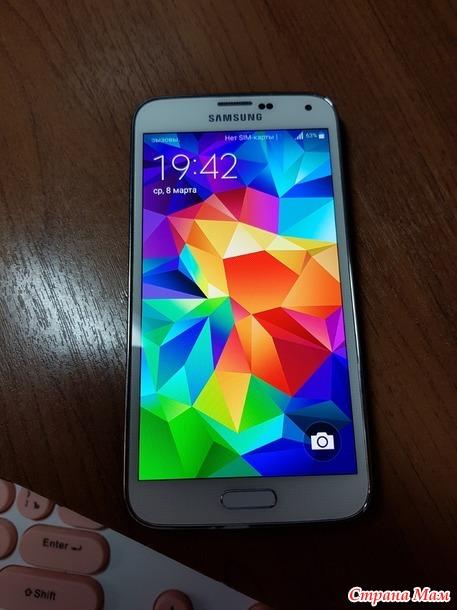 Продам Samsung Galaxy S5 б/у 1 год. В отл. состоянии. Россия