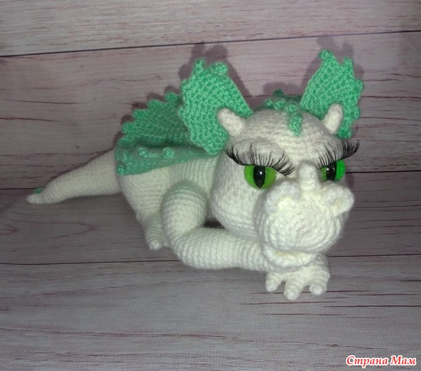 """Девушка-дракон """"аквамарина"""""""