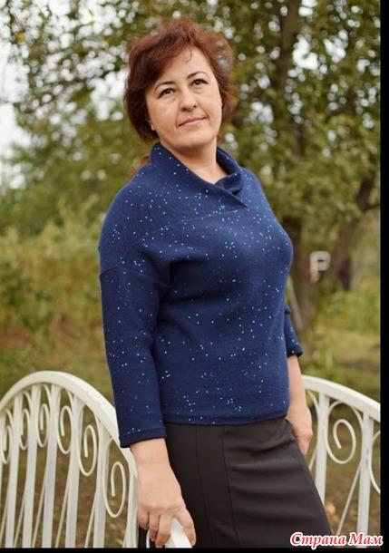 история одного свитера машинное вязание страна мам