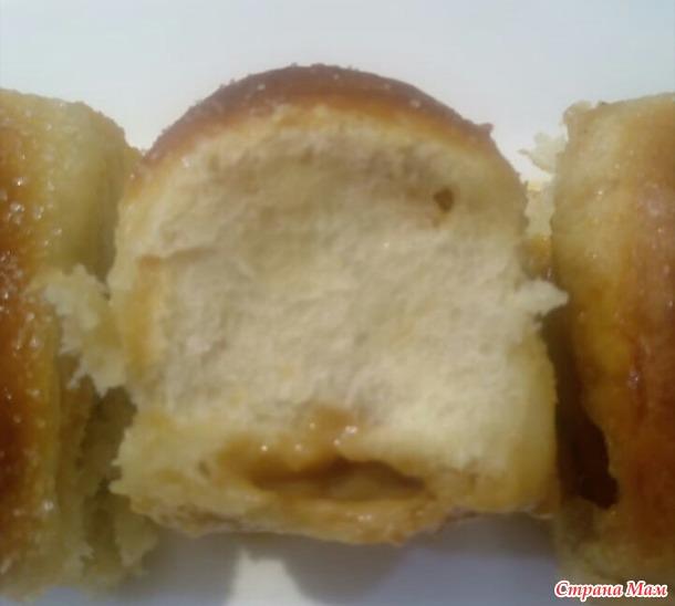 Rohrnudeln - булочки с наполнителем, запечённые в сливках