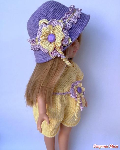 Первые наряды для куколки