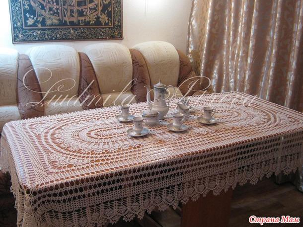 Скатерть Чарующая на прямоугольный стол