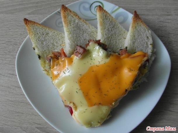 Пицца - бутерброд.