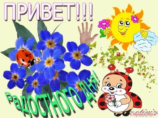 Лисичка-сестричка, мышка-норушка и оранжевый май!!! Отчёт №1