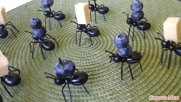 Посылочки.  N1 муравьи