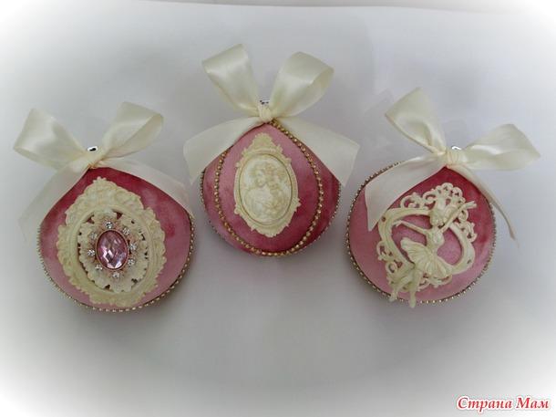 Набор ёлочных игрушек (Беларусь)