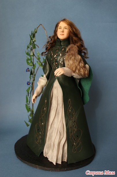 Кукла с портретным сходством.