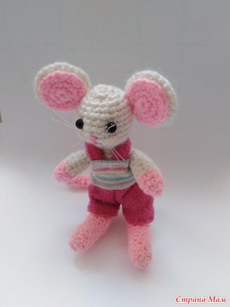 Мышонок Мыша для Новогоднего конкурса