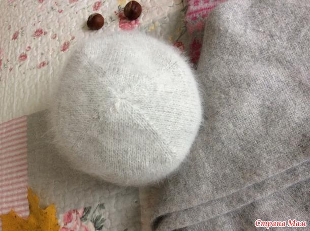 Две шапочки жаккардом