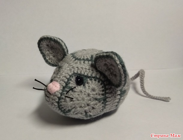 Серый отчет №1. Мышки вязаные.