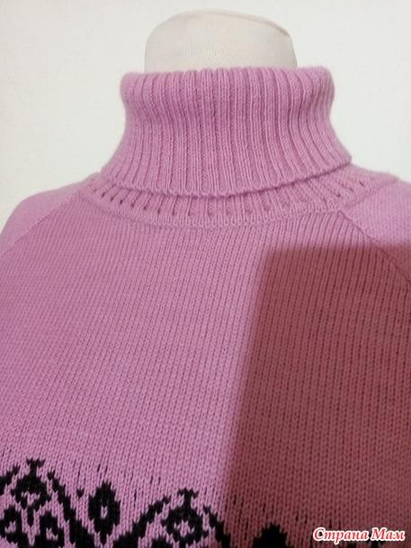 Двоечка из юбки плиссе и свитера.