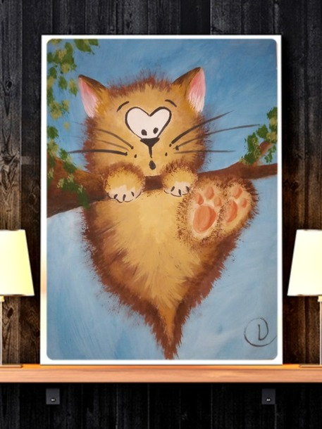 Кот-непоседа