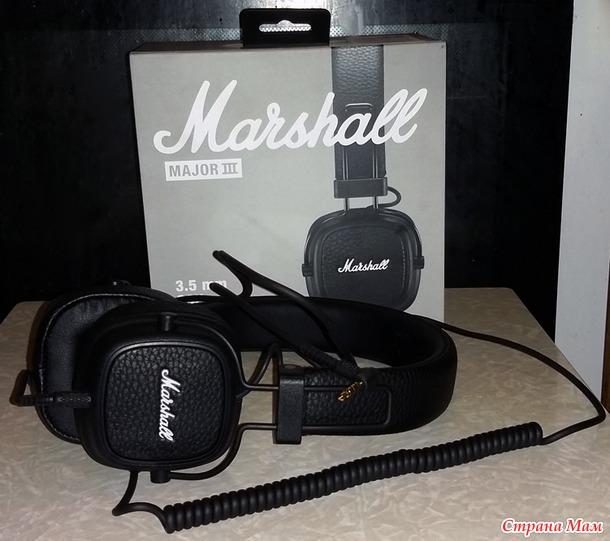 Наушники-гарнитура Marshall Major III